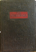 The 1929 Westerner Published By Students San Angelo High School San Angelo Tx.