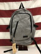 Mancro Business Nwt Polyester Laptop 17in Backpack With Usb Charging
