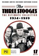 The Three Stooges Ultimate Collection Dvd Box Set 2016 17-disc Set R4 New Sealed