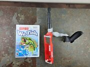 Wii Rapala We Fish Game With Fishing Rod And Reel