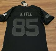 George Kittle Nike Youth M Medium 10-12 Jersey New W/tags 49ers Retail 110