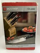 Wusthof Classic Knives Cutlery Set With Storage Block, New Open Box