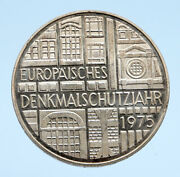 1975f Germany European Historic Monuments Proof Silver 5 Mark German Coin I94531