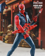 Hot Toy Marbles Spiderman Spider Man 16 Scale Punk Suit Collectable