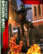 Hot Toy Spiderman Far From Home Spider Man Stealth Suit 16 Collectable Figure