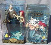 Ariel And King Triton Designer Collection Doll Disney Edition Limited 6000 Nrfb