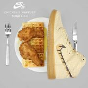 Nike Sb Dunk High Premium Chicken And Waffles Limited Edition 44.5/us10.5/28.5cm.