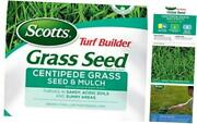 Turf Builder Grass Seed Centipede Grass Seed And Mulch- 5 Lb., Grows In