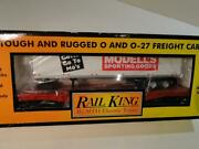 Rail King Mth Electric Trains O Scale Modell's Sporting Goods Car New In Box