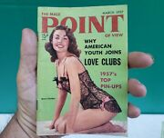 March 1957 Male Point Of View Men Magazine Mara Corday Pinup Girl Marilyn Monroe