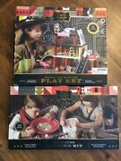 Fao Schwarz Fire Station Play Set And Gold Panning And Gem Excavation Kit New