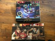 Fao Schwarz 3d Spin Art With Led And Gold Panning And Gem Excavation Kit New