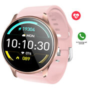 Girls Round Screen Smart Watch Bluetooth Fitness Tracker Pedometer For Iphone 11