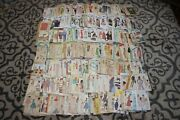 Huge Lot 200+ Vintage Sewing Patterns 70s-90s Mostly Ladies Unchecked Mccall Etc