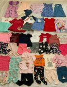 Huge Girls Lot/40 Size 2t Summer/fall Everyday Clothing Outfits, Old Navy+ More