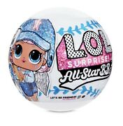 Lol Surprise All-star Bbs Sports Series 1 Baseball Dolls With 8 Surprises