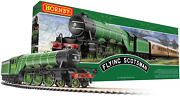 Hornby The Flying Scotsman A1class 4472 Oo Electric Model Train Set Ho Track Wi