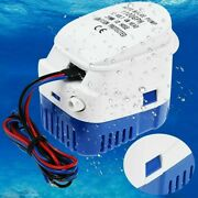 Automatic Submersible Boat Bilge Water Pump 1100gph Built-in Auto Float Switch