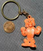 1960s Exxon Esso Enco Humble Oil And Gas Tiger In Your Tank 3-d Figural Keychain