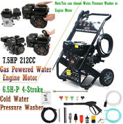 Gas Powered Log Splitter Water Pump Engine/ 6.5h-p Cold Water Pressure Washer Us