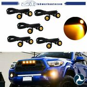 10x Amber Yellow Front Grille Marker Led Light Lamps For Ford F-150 F-250 Escape