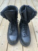Prospector Vibram Army Military Leather Boots Mens Size 10- Gore-tex Insulated