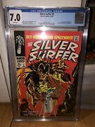 Silver Surfer 3 Cgc 7.0 White Pages First Mephisto
