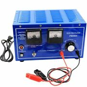 Electronic Plating Machine Rectifier Gold Jewelry Tools 220v Molds Equipment