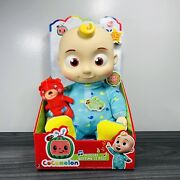 New Cocomelon Jj Musical Bedtime Soft Plush Doll Toy Sing Musical 10 Fast Ship