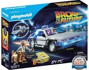 Playmobil 70317 Back To The Future Delorean Playset 64pcs For Ages 6 And Above