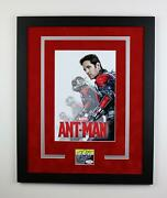Ant-man Paul Rudd Autographed Signed 16x20 Framed Poster Photo Marvel Acoa