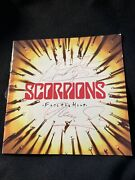 Scorpions Face The Heat Signed Autographed Cd By Klaus Meine And Matthias Jabs '93