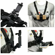 Mobile Phone Chest Mount Harness Strap Cellphone Holder Action Camera Chest Clip