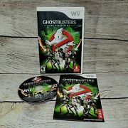 Ghostbusters The Video Game Nintendo Wii Game Complete With Manual Tested