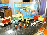 Vintage 1973 Fisher Price Family Circus Train 991 Near Complete With Orig Box