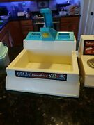 Vintage 1980s Fisher Price Fun With Food Kitchen Sink Stove Tea Party Sets