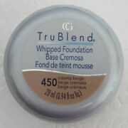 Cover Girl Trublend Whipped Foundation Creamy Beige New 450 Sealed