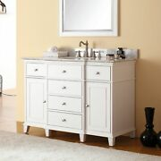 Avanity Windsor 49-inch Single Vanity In White With Top And