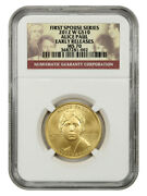 2012-w Alice Paul 10 Ngc Ms70 Early Releases - First Spouse .999 Gold