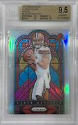 2018 Prizm Baker Mayfield Stained Glass Bgs 9.5