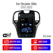 13.3 Touchscreen Android Car Radio Dvd Gps Navigation For Chrysler 300c 2012-20