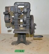Usmc Apex Feather Edge Shank Reducing Machine No B Leather Saddle Collectible L2