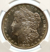 1878 S United States Of America Silver Morgan Us Dollar Coin Eagle Ngc I95566