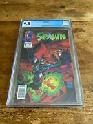 Spawn 1 Cgc 9.8 Image 1992 1st Appearance Newsstand M7 383 Cm