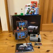 Super Mario Nintendo Lego And Nes Game Set Used From Japan