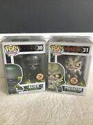 Funko Pop Sdcc 2013 Limited Bloody Alien And Predator Figures