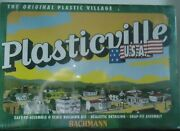 Plasticville Usa Windmill With Farm Machinery Item No. 45603 Snap Fit