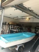 1968 Boston Whaler 13and039 With Trailer And 1968 Johnson 18 Hp Outboard Motorandnbsp