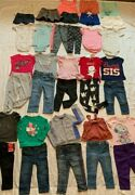 Huge Girls Lot/35 Size 18m-2t Summer/fall Clothing Outfits, Old Navy+ More