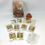 Vintage 1973 Pit Card Game Parker Brothers Commodity Grains Trade No 661